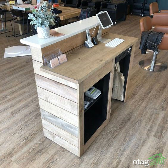 معرفی مدل های جدید میز پذیرش و میز منشی با طراحی مدرن