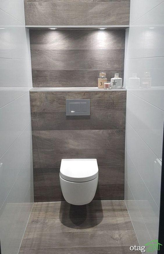 مدل توالت فرنگی شیک و زیبا مناسب فضاهای کوچک