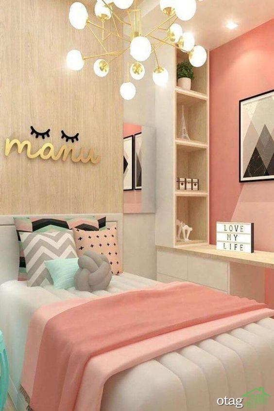 راهنمایی کامل چیدمان و مدل اتاق خواب دخترانه