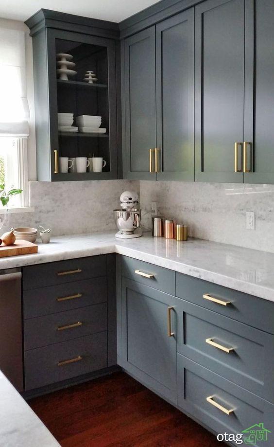راهنمای انتخاب رنگ کابینت آشپزخانه مدرن و کلاسیک