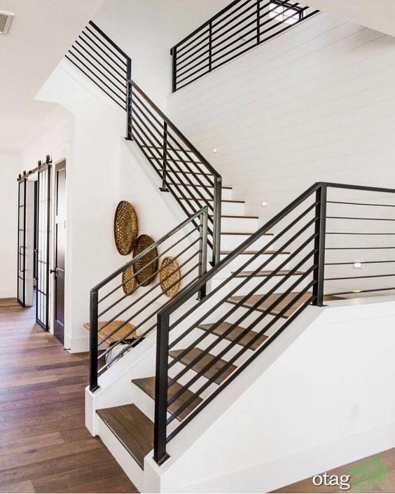 طرح راه پله مدرن و منحصر بفرد برای [دکوراسیون خانه های دوبلکس]