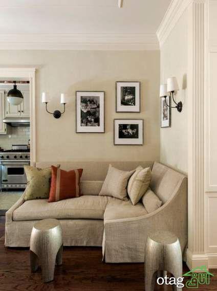 مدل های کمجا مبلمان مناسب گوشه دیوار در دکوراسیون منزل