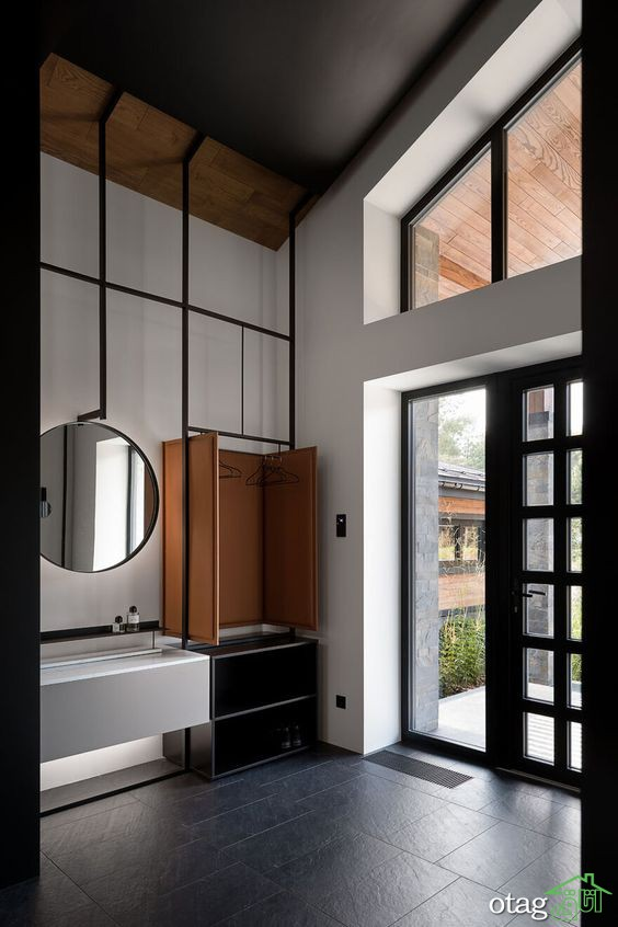 طراحی داخلی و نمای خارجی خانه ویلایی به سبک کلاسیک-مدرن