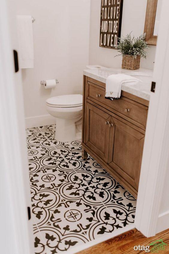 مدل کاشی عکس دار مناسب دکوراسیون آشپزخانه و حمام