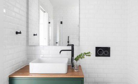 کابینت حمام و دستشویی با طراحی بسیارشیک و مدرن