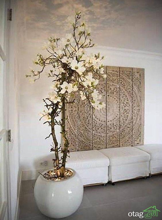 مدل گلدان فانتزی در طرح های دیواری و مغناطیسی معلق در هوا