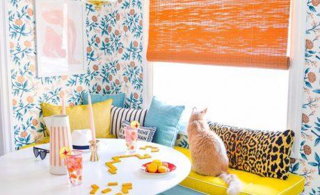 مدل های زیبای کاغذ دیواری آشپزخانه در طرح های کلاسیک و سنتی
