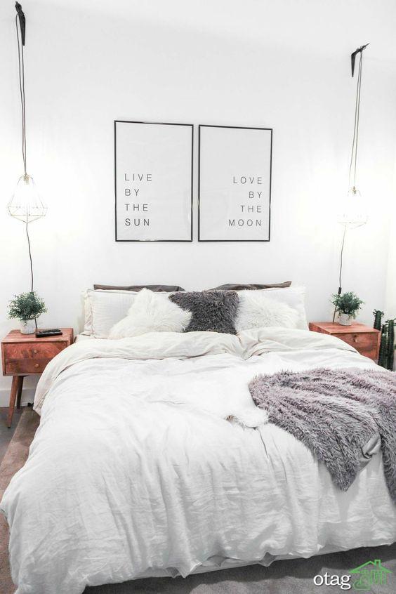 30 مدل سرویس خواب عروس و داماد عاشقانه ، راحت و شیک
