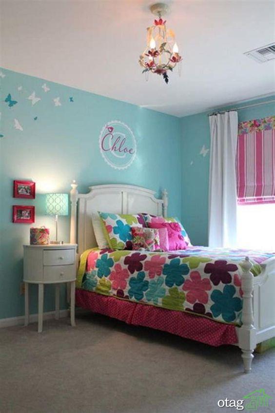 بهترین رنگ برای اتاق کودک دختر [ ترکیب صورتی و خاکستری ]