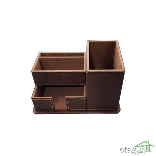 30 مدل عکس از وسایل روی میز کار و تحریر مدرن فضاهای کوچک + قیمت ارزان
