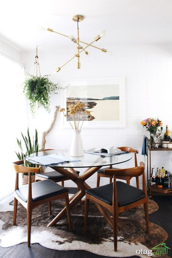 مدل میز گرد تزیینی طرح عثمانی مناسب پذیرایی های کوچک و بزرگ