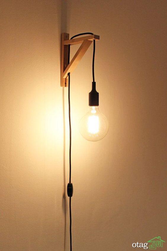 جدیدترین مدل های چراغ دیواری دکوراتیو و[ بسیار شیک در بازار]