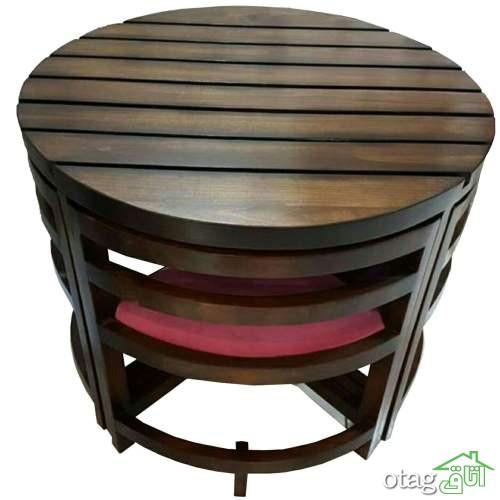 آشنایی با 30 مدل جدید میز ناهار خوری چوبی کلاسیک و مدرن [قیمت ارزان]