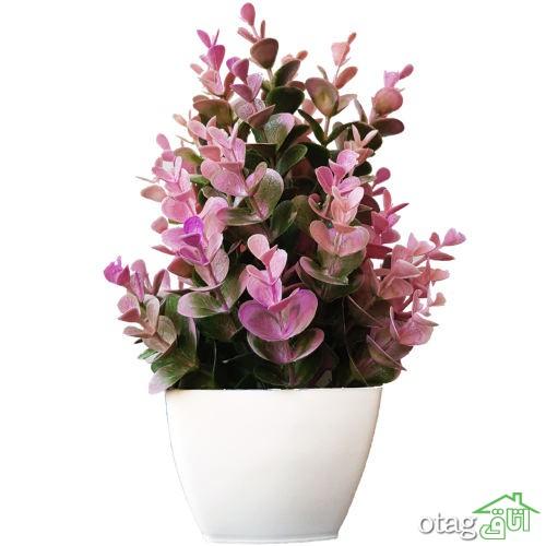 استفاده از گل مصنوعی برای تزیین خانه + 24 مدل شیک و ارزان