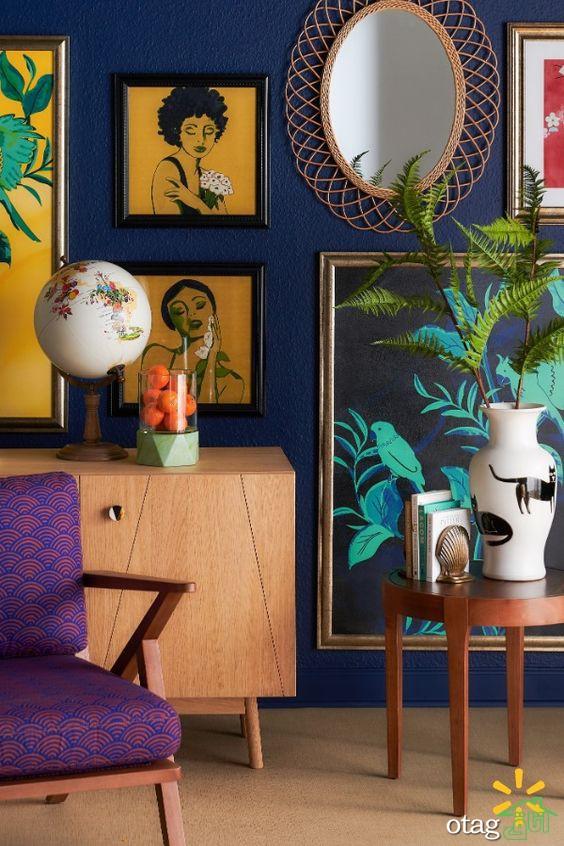 تاثیر رنگ در معماری داخلی و بررسی حالت آنها بروی انسان