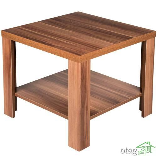 30 مدل میز وسط مبل [ زیبا و مدرن ] چوبی، mdf، فلزی و شیشه ای