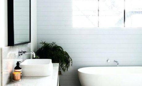 انواع کفپوش سرویس بهداشتی و حمام در طرح های چوبی و سرامیکی