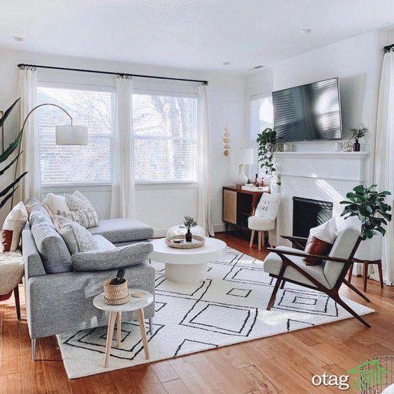 40 مدل عکس داخل آپارتمان با مساحت کمتر از 60 متر مربع