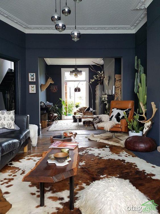 نحوه استفاده از رنگ تیره در دکوراسیون منزل مدرن و امروزی