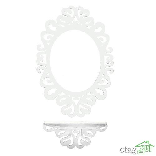 28 مدل میز کنسول و آینه [مدرن و شیک] راهروی آپارتمان های کوچک