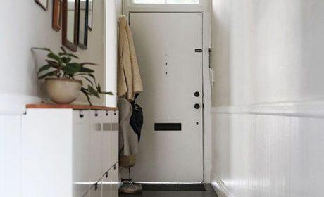 تزیین راهرو باریک با کاشی و سرامیک های شیک مخصوص ورودی منزل
