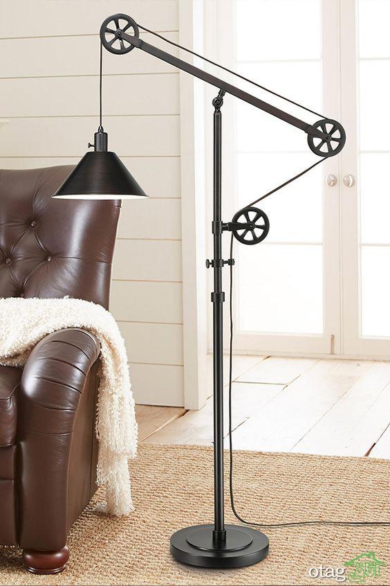 مدل آباژور ایستاده مدرن و کلاسیک مناسب اتاق خواب و نشیمن