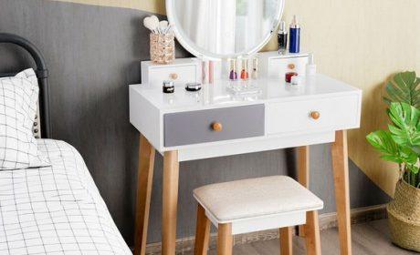 مدل های جدید میز آرایش مدرن و زیبا مناسب اتاق های کم جا