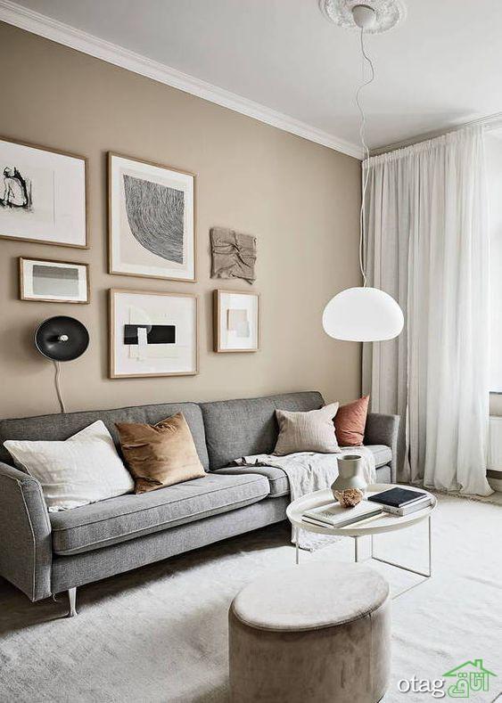 روش استفاده از رنگ بژ در دکوراسیون خانه و آپارتمان های لوکس