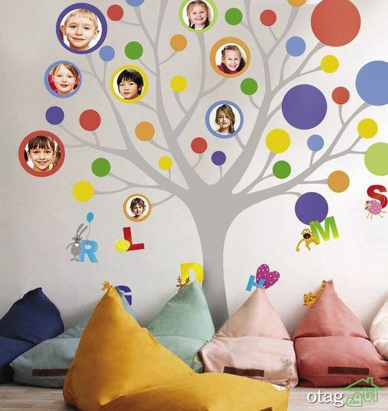 6 مدل طراحی مهد کودک مدرن [با الهام از طبیعت رنگارنگ]