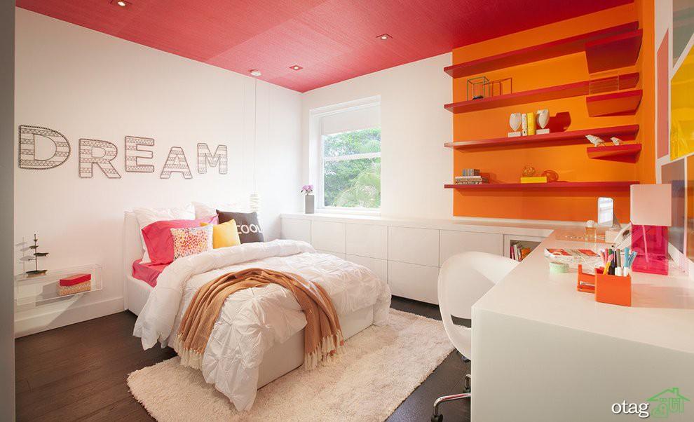 40 مدل دکوراسیون اتاق خواب دخترانه جوان و نوجوان شیک