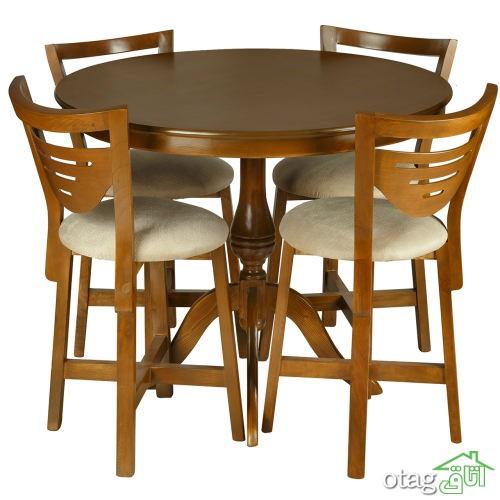 33 مدل جدید میز ناهارخوری کم جا و تاشو [بسیار شیک و مدرن] در سال جدید