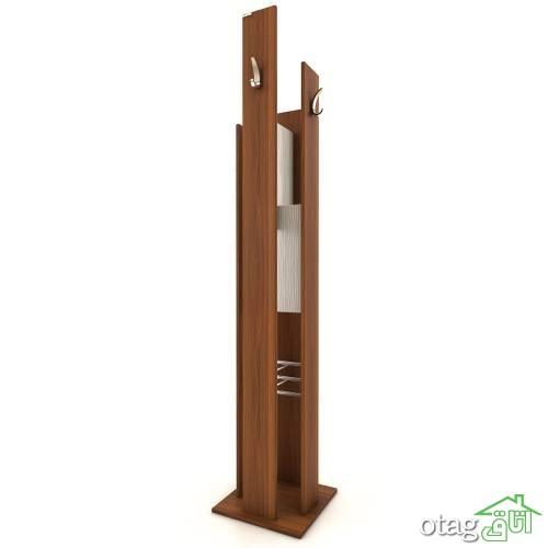 28 مدل چوب لباسی جدید و جالباسی شیک [برای دکوراسیون ورودی منزل]