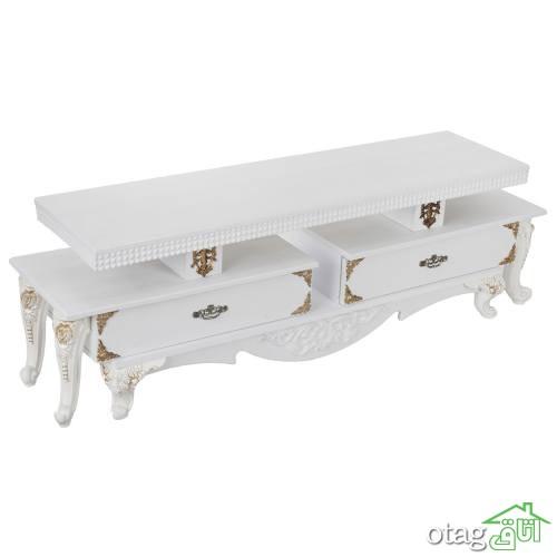 34 مدل میز تلویزیون زیبا و بی نظیر [درسال جدید] – قیمت ارزان