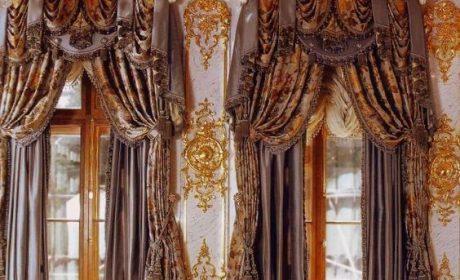 40 مدل پرده سلطنتی بسیار زیبا و بی نظیر [در سال جدید]