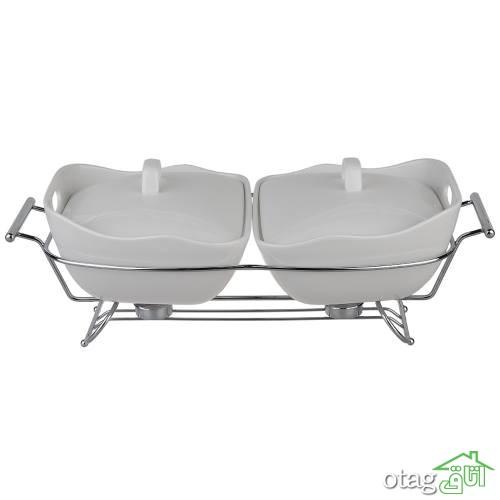 قیمت خرید 28 مدل ظرف سوفله مدرن [ استیل و پیرکس ] در بازار – خرید اینترنتی