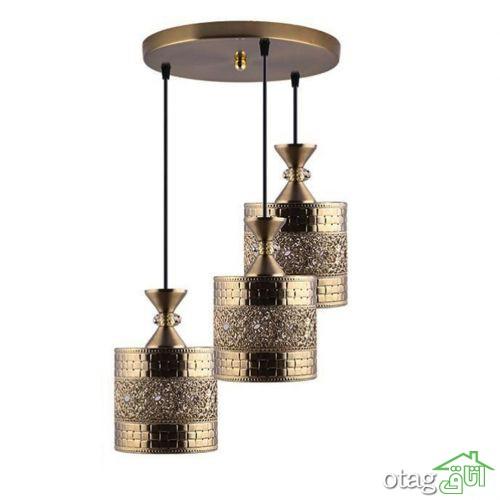 خرید 41 مدل چراغ آویز سقف [ لوستر آویز ] شیک و مدرن