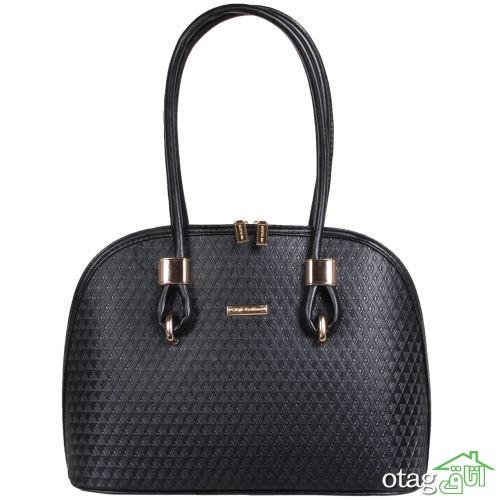 خرید 32  مدل کیف زنانه دستی چرم پر فروش و شیک مدل سال 2019