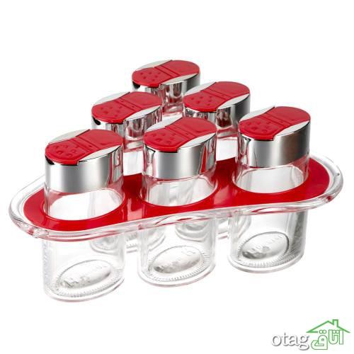 خرید 36 مدل ظرف جای ادویه مدرن (برای آشپزخانه امروزی) فانتزی و شیک
