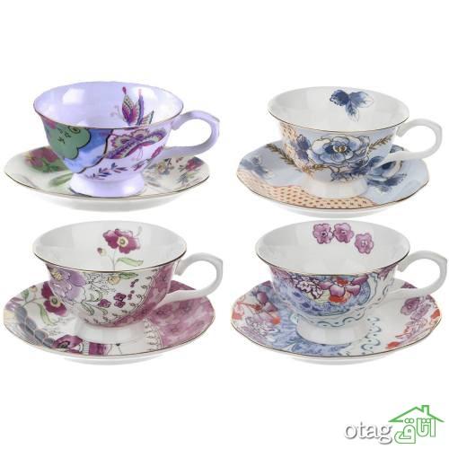 خرید 42 مدل سرویس چای خوری فانتزی و شیک [ پر فروش ] با ارسال رایگان