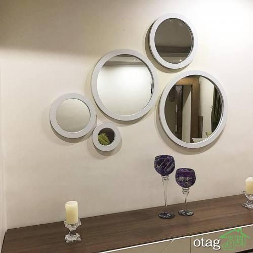 خرید 44 مدل آینه دکوراتیو فانتزی [ مدلهای پر فروش سال ] ارسال سریع