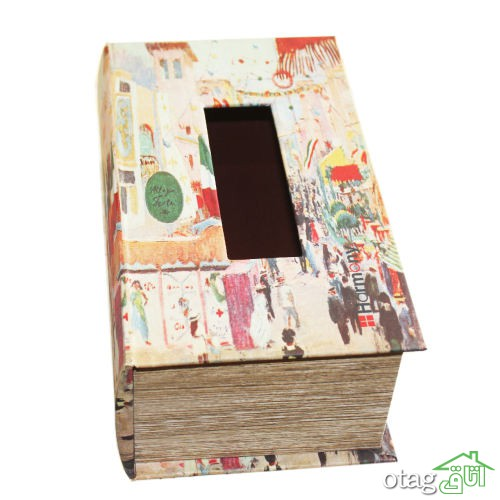 خرید 40 مدل جا دستمال کاغذی فانتزی – نمدی، کریستال، چوبی [ جعبه دستمال کاغذی ]