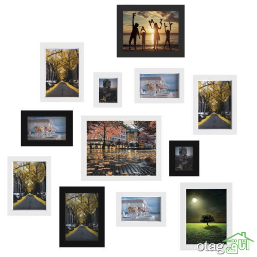 خرید 30 مدل قاب عکس رومیزی و دیواری [ فانتزی و مدرن ] با تخفیف