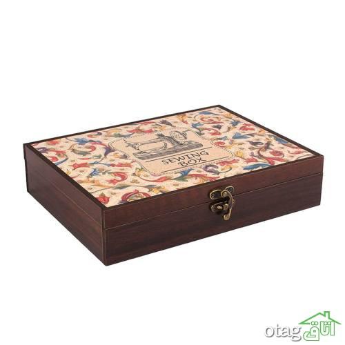 خرید 33 مدل جعبه لوازم خیاطی [ فانتزی و لوکس ] با تخفیف ویژه