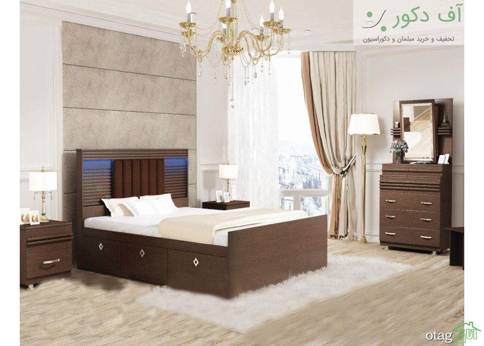 قیمت و خرید تخت خواب دو نفره و یک نفره شیک و ارزان