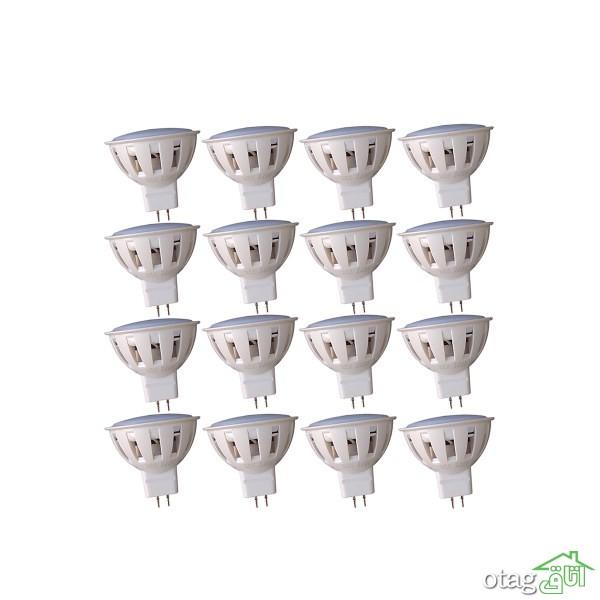 خرید 18 مدل لامپ هالوژن مدرن و پر نور [ 6 تا 60 وات ] با تخفیف