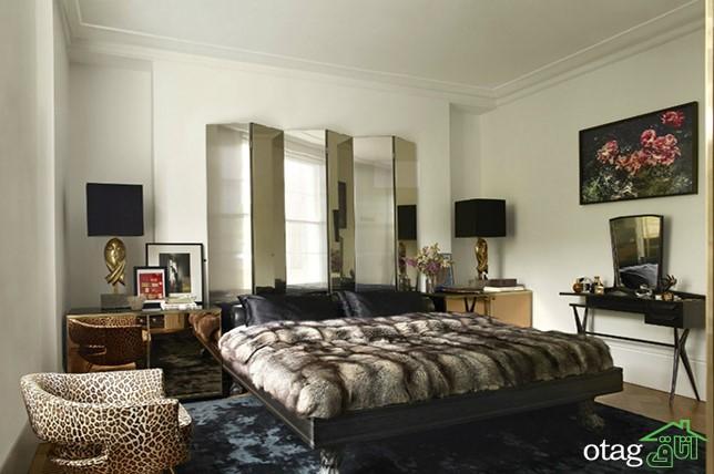 ایدههای طراحی اتاق خواب مستر [ خلاقانه ] در سال 2019