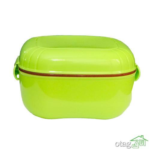 خرید 43 مدل ظرف غذا سفری شیک [ فلزی ، شیشه ای، پلاستیکی ] با تخفیف