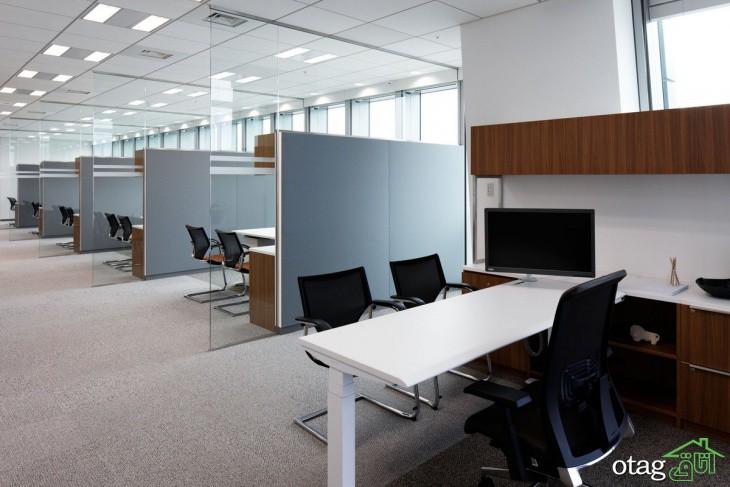 8 ایده و ترند جدید طراحی داخلی دفتر اداری [ مدرن و شیک ]