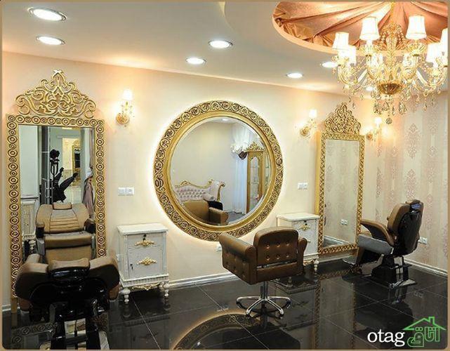 30 ایده خاص طراحی دکور آرایشگاه زنانه و مردانه