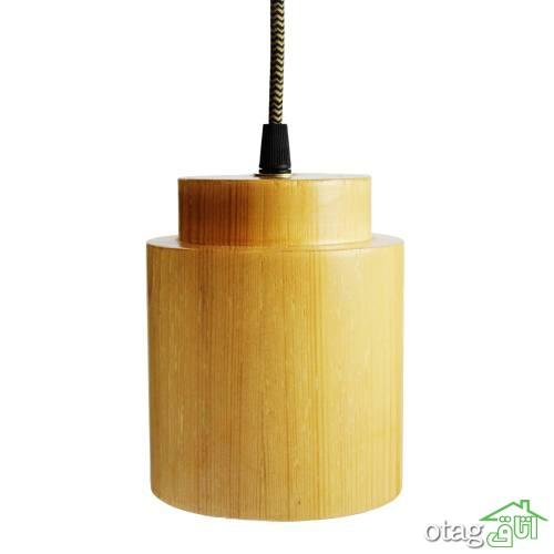 خرید 22 مدل چراغ و لوستر چوبی فانتزی [ مدلهای پر فروش ] ارسال سریع